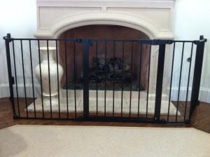 Custom Fireplace Hearth Child Safety Gate Dallas & San Antonio Texas