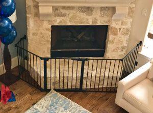 Baby Proof Fireplace Hearth Gates Austin, Lakeway & Cedar Park Texas