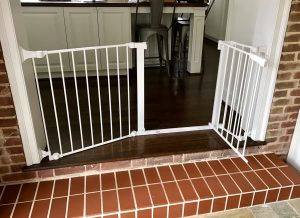 Baby Proofing San Antonio Texas & White Custom Baby Safety Gates