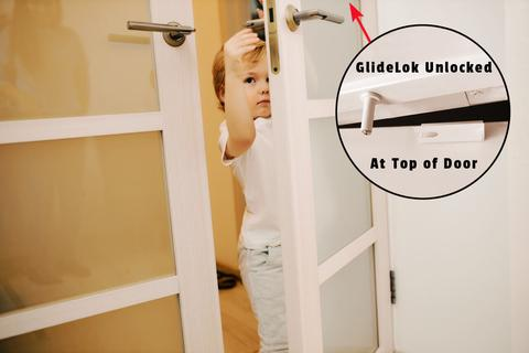 GlideLok is the best door latch!
